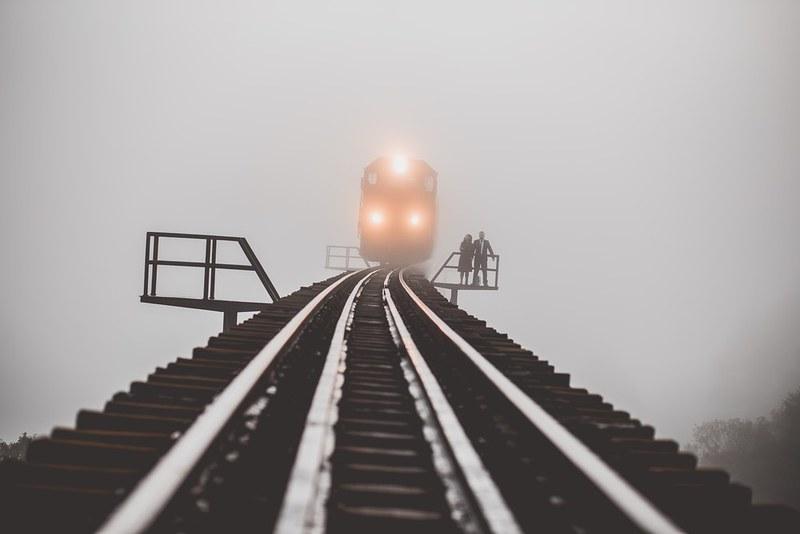Pour la défense du service public ferroviaire.