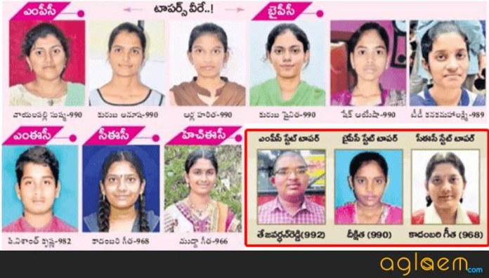 AP Inter Toppers List 2018