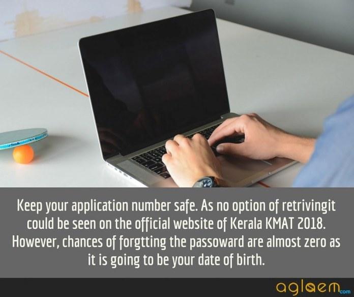 Kerala KMAT 2018 Admit Card