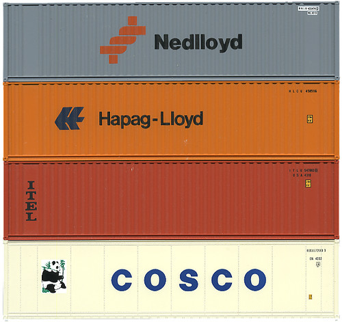 Shipping Containers Nedlloyd Hapag Lloyd ITEL Cosco Flickr