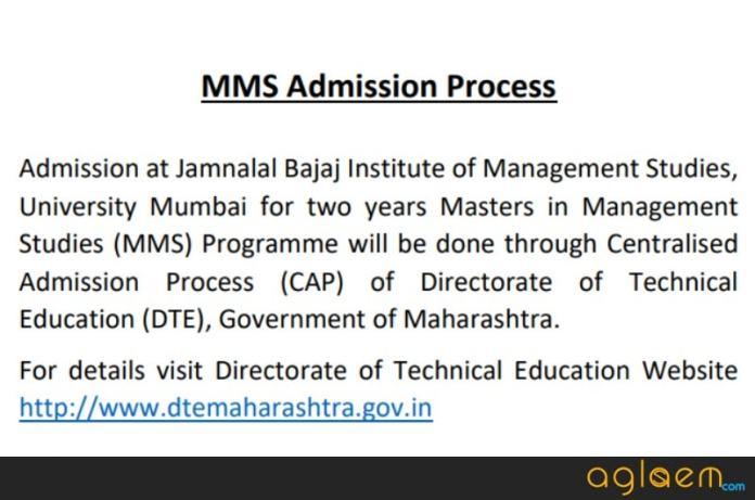 JBIMS Admission 2018