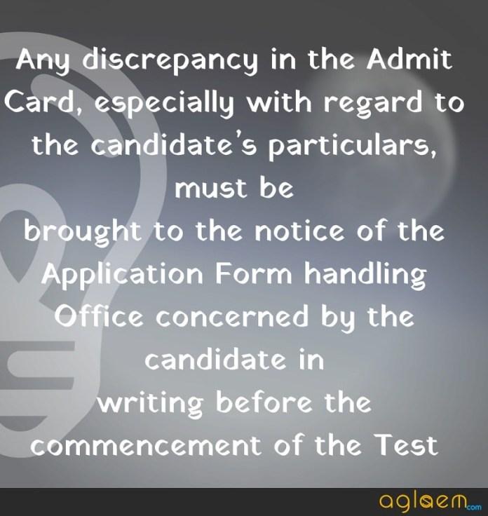 AMU MBA Admit Card 2019
