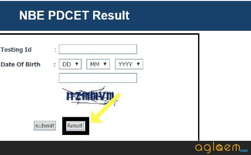 DNB PDCET 2018 Result