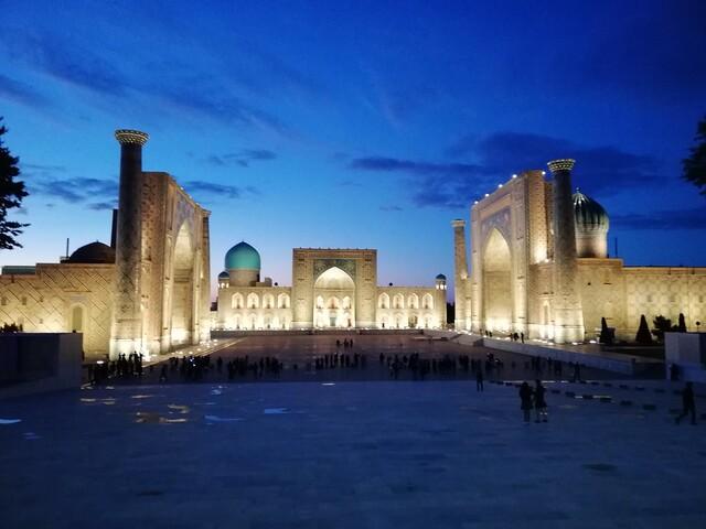 Il Registan, la bellissima piazza di Samarcanda