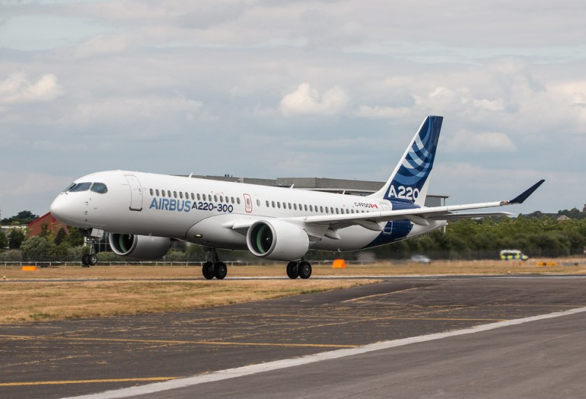 Bildresultat för airbus a220