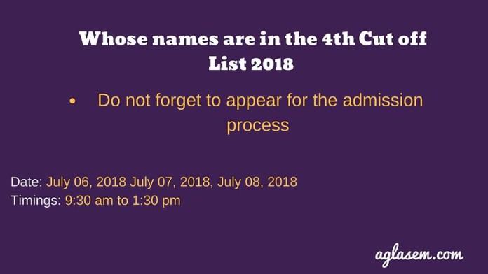 Kirori Mal College 4th Cut Off 2018