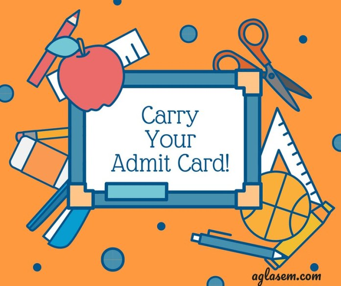 HPBOSE 12th Admit Card 2019