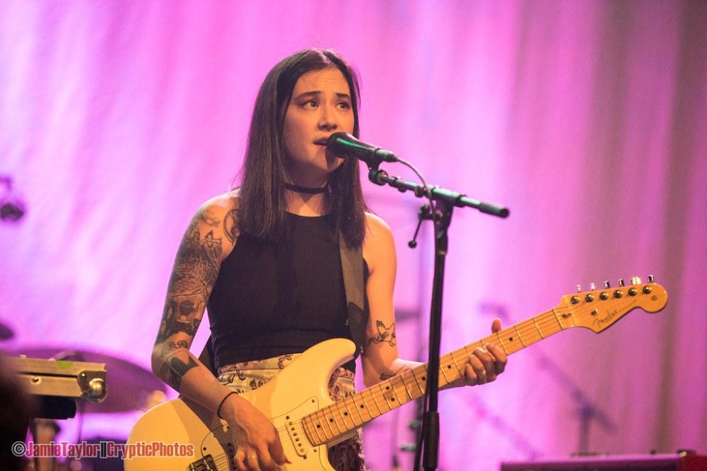 Michelle Zauner of Japanese Breakfast performing at the Vogue Theatre in vancouver, Bc on June28th 2018