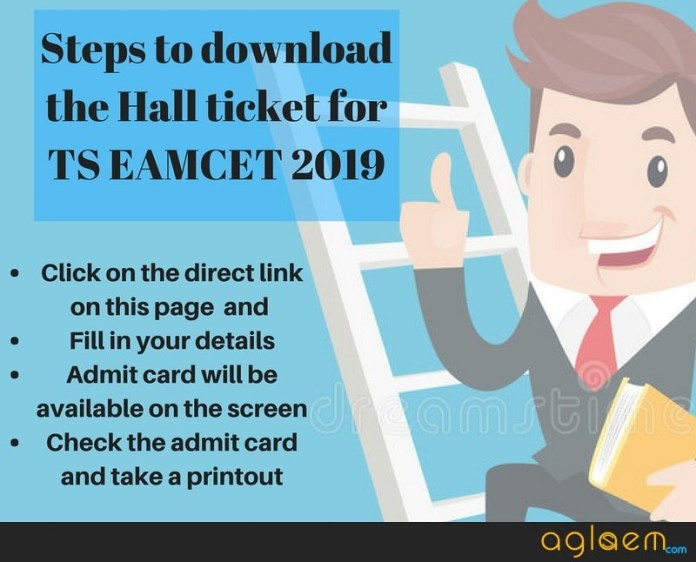TS EAMCET 2019 Hall Ticket