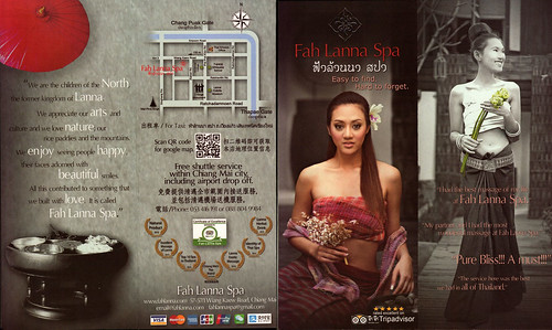 Brochure Fah Lanna Spa Chiang Mai Thailand 1