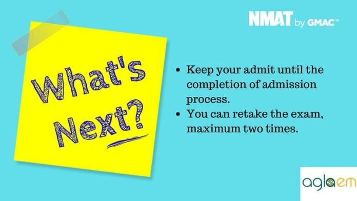 NMAT 2018 Admit Card- Download at nmat.org.in  %Post Title, %Post Category, AglaSem
