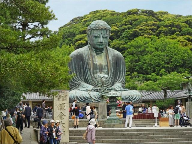 """Résultat de recherche d'images pour """"grand bouddha Kōtoku-in"""""""