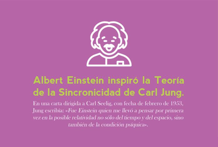 junio: Albert Einstein inspiró la Teoría de Sincronicidad de Carl Jung