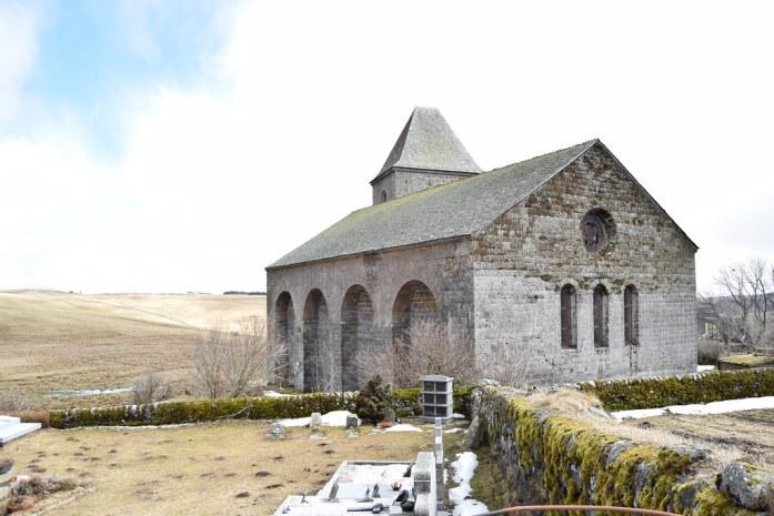 Enclave medieval en la región del Aubrac