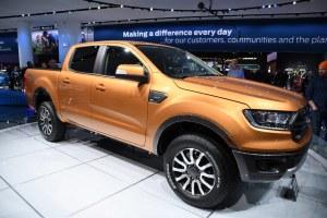 Ford Ranger Pickup  2018 North American International Aut