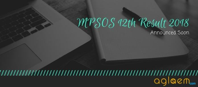 MPSOS 12th Result 2018