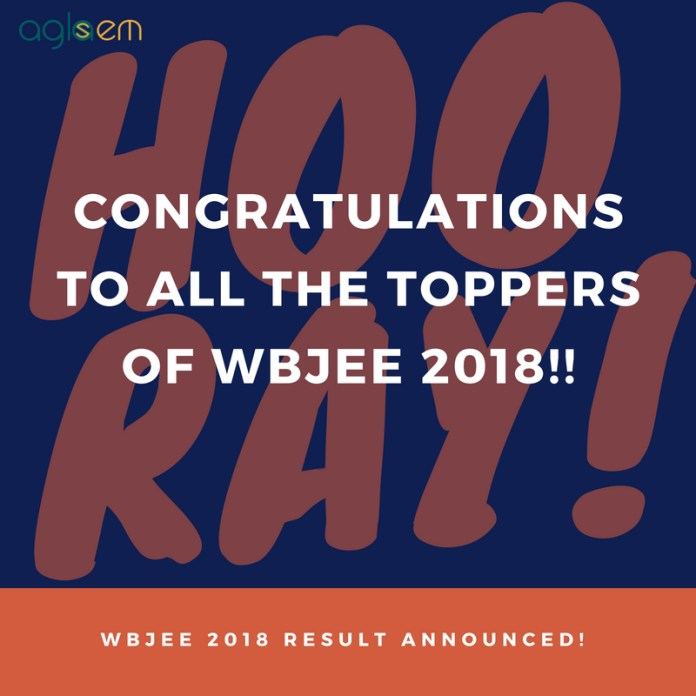 WBJEE 2018 Toppers