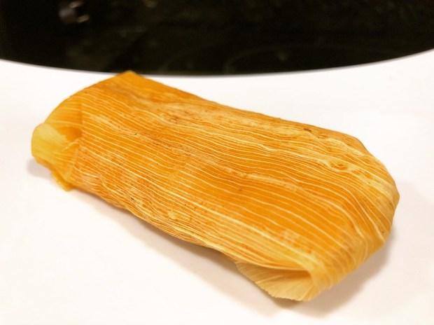 Tamal mexicano. Chef Koketo