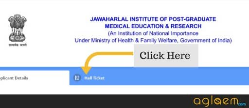 How To Download JIPMER 2018 Admit Card Online?