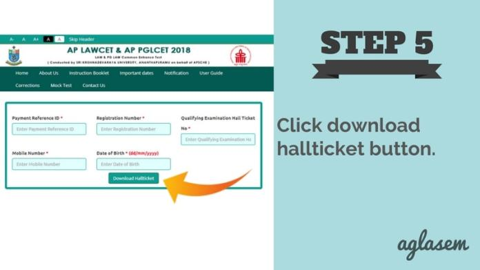 AP LAWCET 2018 Hall Ticket issued at sche.ap.gov.in, login to download Admit Card  %Post Title | AglaSem