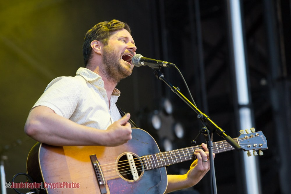 Dan Mangan performing at the PNE Amphitheatre in Vancouver, BC on June 23rd 2018