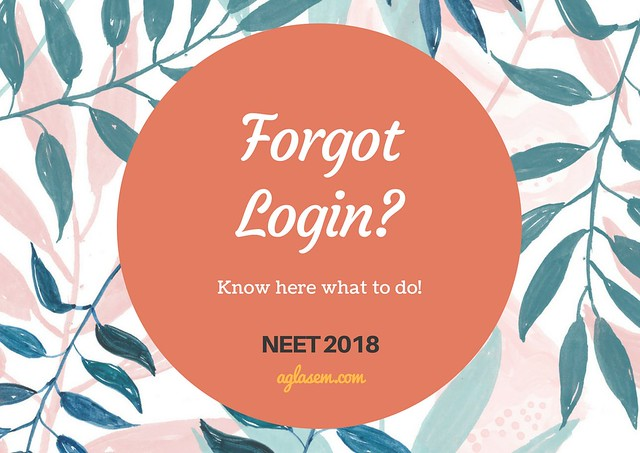 How To Check NEET 2018 Official Answer Key If You Have Forgotten Login Details?
