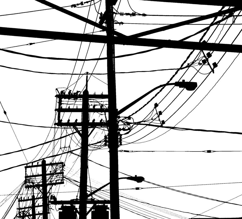 Silhouette Kensington Power Lines