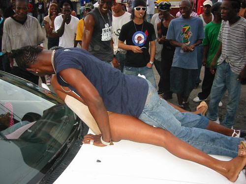 seen. in Jamaica 2006   Passa Passa: Patrons seen. we nice