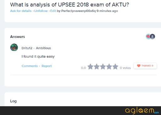 UPSEE 2018 Analysis