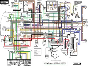 BMW R807 TIC updated wiring diagram | This wiring diagram