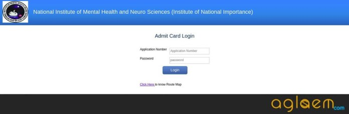 NIMHANS 2019 Admit Card   Download Hall Ticket Before Exam