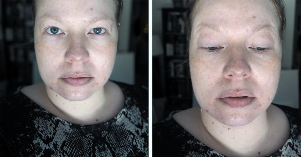 my skin no makeup ihoni ilman meikkiä