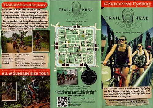 Brochure Trailhead - Day Tours Chiang Mai Thailand 3