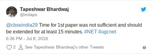 UGC NET cut off marks