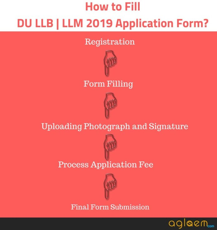 DU LLB | LLM 2019 Application Form  %Post Title | AglaSem