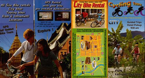 Brochure Chiang Mai Mountain Biking & Kayaks City Tour 1