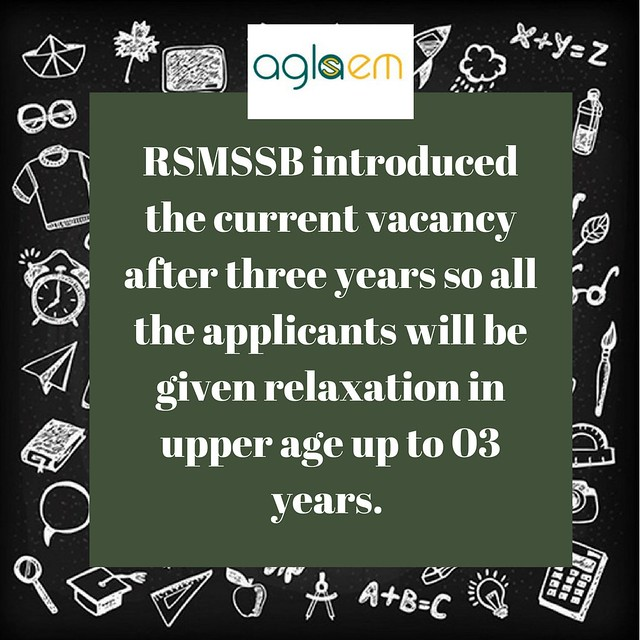 RSMSSB Stenographer Vacancy 2018