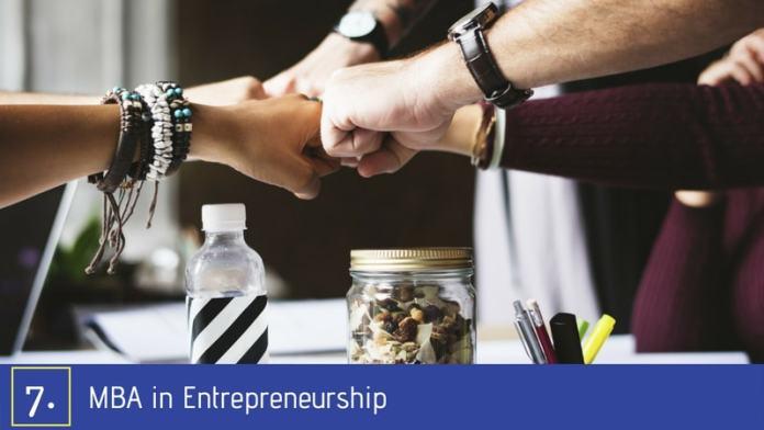 Best MBA Specialization - Entrepreneurship