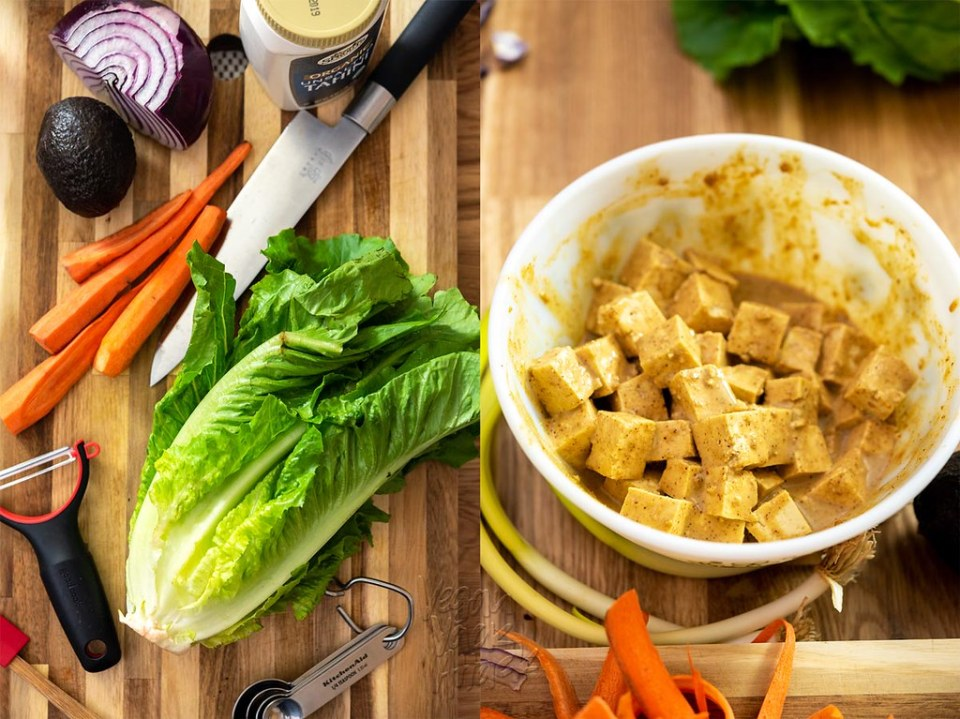 The end of summer is nearing, and that means it's time for some back-to-school recipes! Try these crispy chipotle tofu rainbow wraps out, to make everyone envious of your fresh lunch. #backtoschool #lunch #wrap #vegan