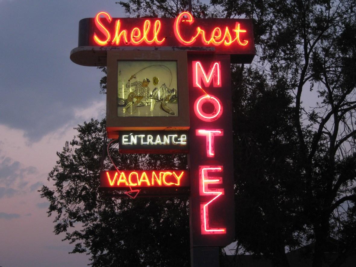 Shell Crest Motel - 573 6th Street, Wells, Nevada U.S.A. - August 1, 2018