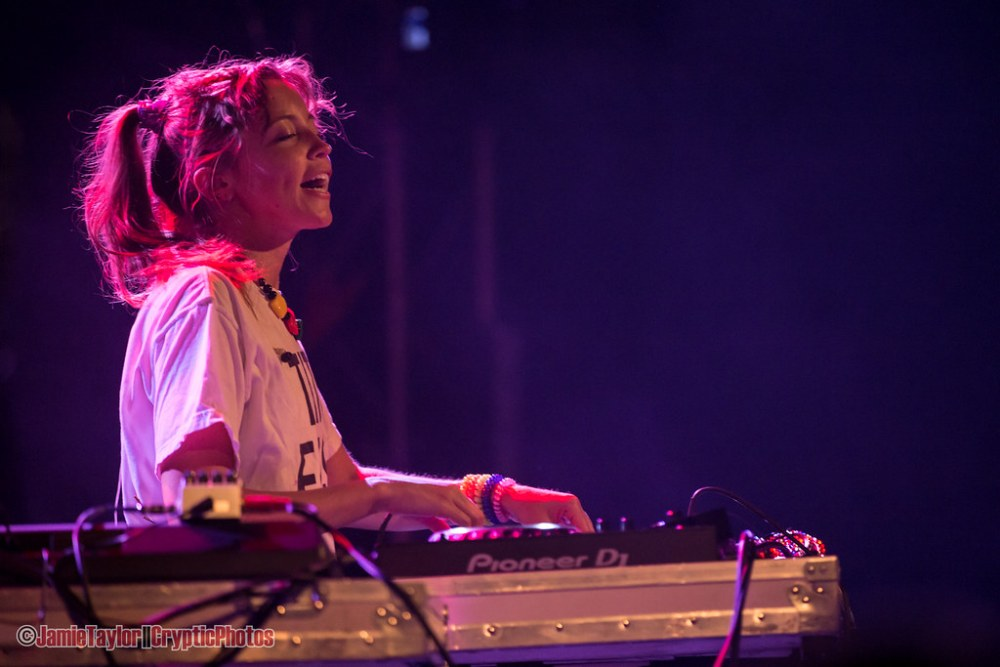 LP Giobbi performing at The Commodore Ballroom in Vancouver, BC on May 22nd 2018