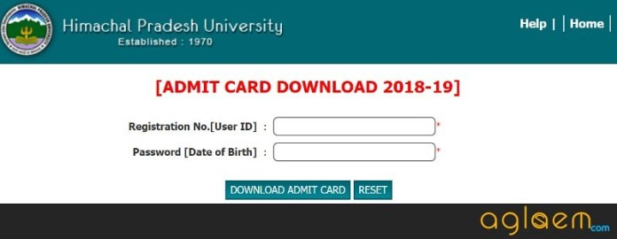 HPU MAT 2018 Admit Card