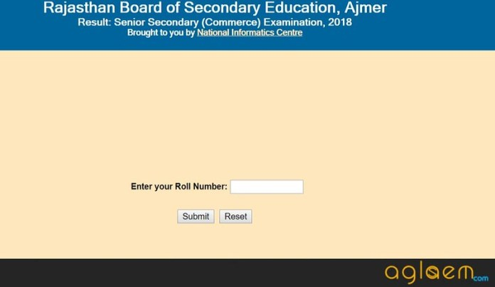 RBSE 12th Result 2018