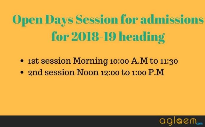 DU Open Day Session