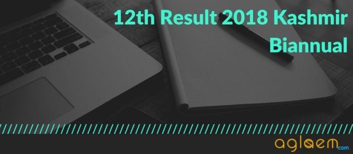 JKBOSE 12th Result 2018 Kashmir Biannual