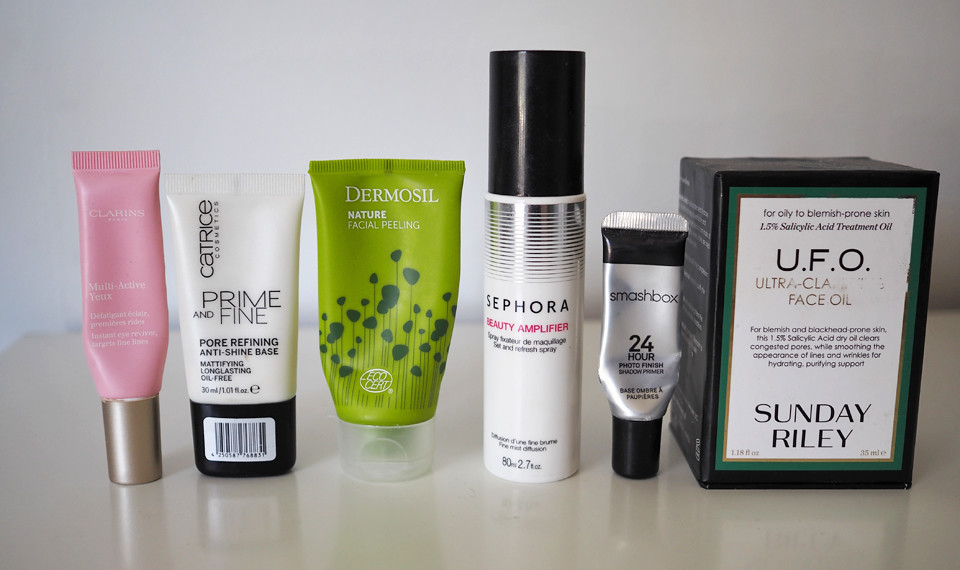 clarins sunday riley smashbox sephora dermosil catrice