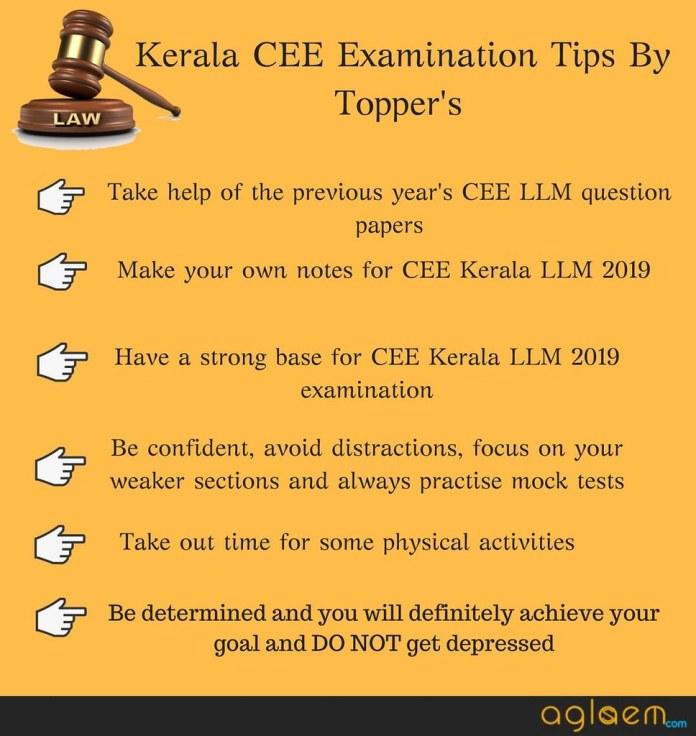 CEE Kerala LLM 2019 Syllabus