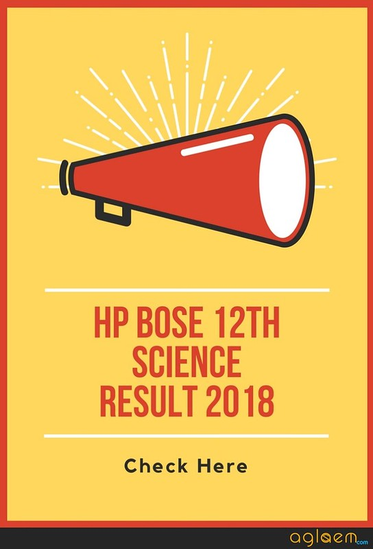 HPBOSE 12th Science Result 2018