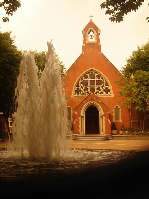 Dahlgren Chapel At Georgetown University Georgetown