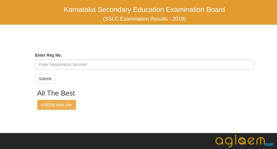 Karnataka SSLC Result 2018 Roll Number Wise